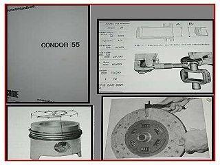 Reparaturanleitung Same Condor 55 Werkstatthandbuch 1979