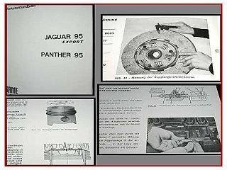 Same Jaguar 95, Panther 95 Werkstatthandbuch