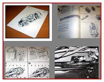 Reparaturanleitung Renault Alpine A310 V6 Werkstatthandbuch
