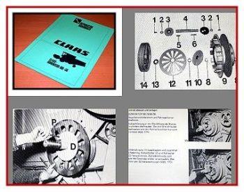 Claas Dominator 56 66 76 86 96 106 Werkstatthandbuch