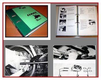 Claas Jaguar 675 bis 690 Maishäcksler Werkstatthandbuch