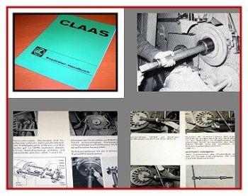 Claas Mercator Protector Senator Werkstatthandbuch