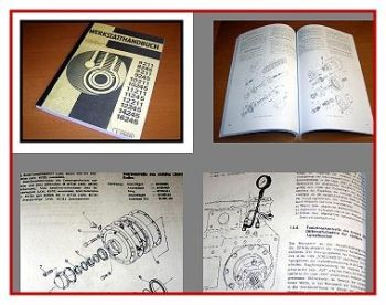 Reparaturhandbuch Zetor 8211 - 16245 Traktor Werkstatthandbuch 1988
