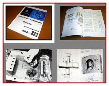 IHC 323 353 423 Werkstatthandbuch Getriebe