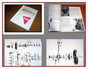 Güldner GKN Motor Bedienung & ETL  & Reparatur 1959