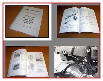 IHC 554 644 744 844 844S Werkstatthandbuch Fahrgestell