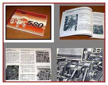 Fiat 580 + 580DT Betriebsanleitung 1978