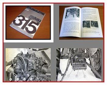 Fiat 315 Betriebsanleitung & Wartung 1965