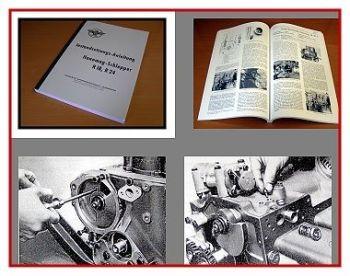 Hanomag R18, R24 Werkstatthandbuch 1957