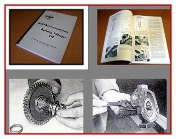 Hanomag R12 Werkstatthandbuch 1957