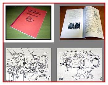Werkstatthandbuch Fiat 750, 850, 1000, 1300 Reparaturanleitung
