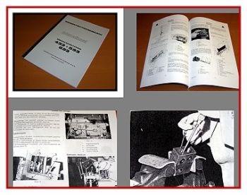 IHC 433, 533, 633 Werkstatthandbuch Regelhydraulik 1975
