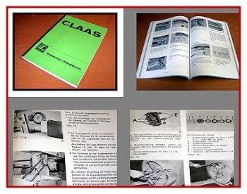 Werkstatthandbuch Claas Dominant Constant Markant Trabant Reparaturhandbuch