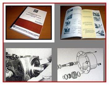 ZF APL 315 325 335 345 350 355 Planetenachse Werkstatthandbuch 1986