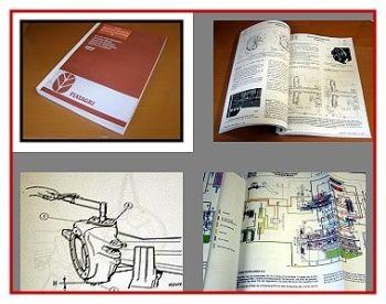 Reparaturhandbuch Fiat 115-90 bis 180-90 Turbo Werkstatthandbuch