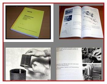Fahr M66 88 88S 1000 1102 1250 1300 1600 Rubin ... Werkstatthandbuch
