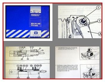 New Holland TF 70 TF 76 TF 78 Mähdrescher Werkstatthandbuch