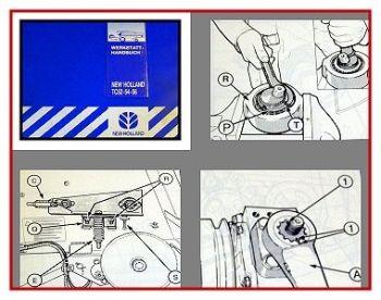 New Holland TC52 - TC56 Mähdrescher Werkstatthandbuch