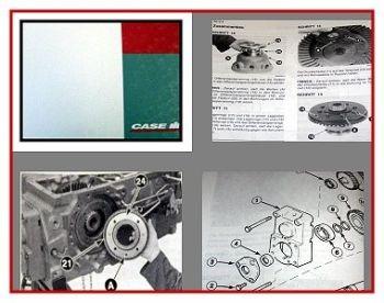 Case CX 50 60 70 80 90 100 Schlepper Werkstatthandbuch