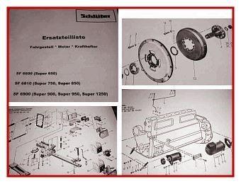 Ersatzteilkatalog Schlüter Super 650 750 850 900 950 1250 Ersatzteilliste