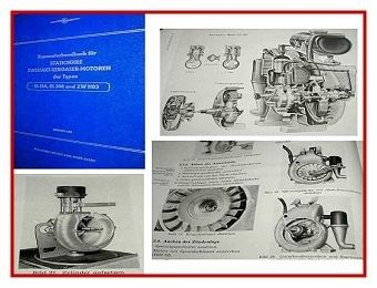 EL 150, EL 308, ZW 1103 Motor Reparaturhandbuch 1963
