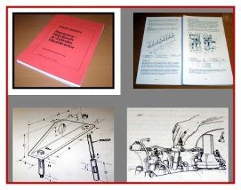 David Brown 990, 1200 Dieselmotor Werkstatthandbuch