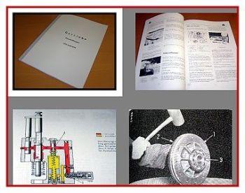 IHC 523 + 624 Werkstatthandbuch Getriebe 1966