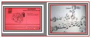 Güldner G-Serie Dieselmotor L79 Ersatzteilliste