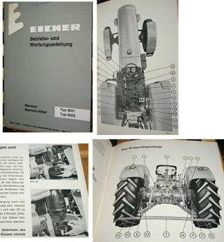 Eicher 3011, 3012 - Mammut Betriebsanleitung
