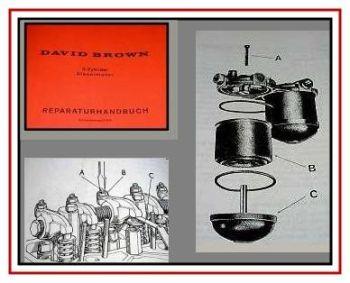 Reparatur David Brown 770, 880 Dieselmotor Werkstatthandbuch