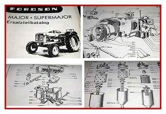 Fordson Major & Fordson Super Major Ersatzteilkatalog