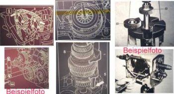 Mercedes Benz Motor 111 Reparaturanleitung Microfich