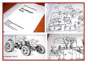RS 01 Ackerschlepper Bedienungsanleitung RS01 Pionier Traktor