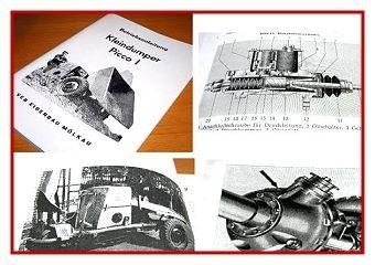 Picco 1 Kleindumper Betriebsanleitung 1961