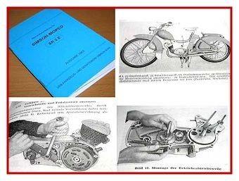 Simson SR2 E SR 2 E Reparaturanleitung 1963