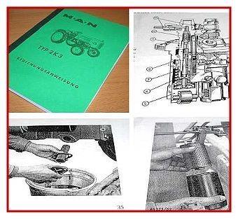 MAN 2K3 Schlepper Bedienungsanleitung 1959