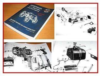 Eicher EM 200 Eicher Tiger Ersatzteilliste 1963 Ausgabe B