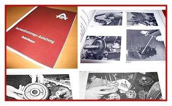 Hanomag Perfekt 300, 301, 400, 401 Werkstatthandbuch