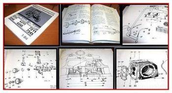 Zetor 5211,5245,6211,6256, 7211, 7245 Werkstatthandbuch