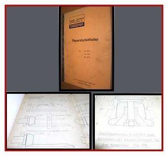 Reparaturleitfaden Fiat 315, 415, 615 + DT Werkstatthandbuch