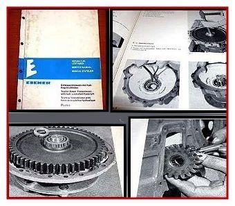 Eicher Puma Werkstatthandbuch Getriebe, Regelkraftheber