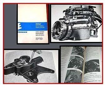 Eicher Schlepper Perkins AD3.152 Werkstatthandbuch