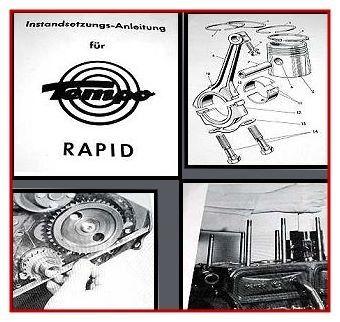 Tempo Rapid Werkstatthandbuch