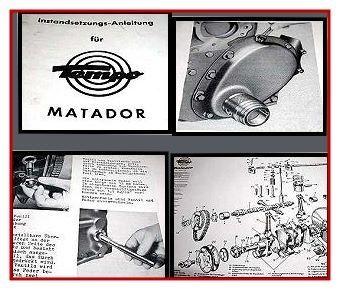 Tempo Matador Werkstatthandbuch