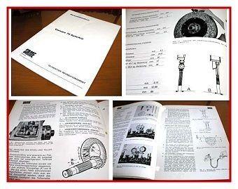 Same Corsaro 70 Synchro Werkstatthandbuch 1979