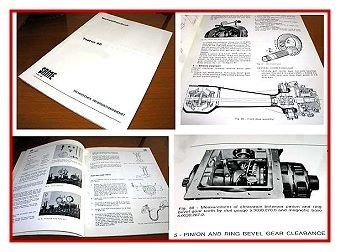 Same Taurus 60 Werkstatthandbuch in englisch 1979