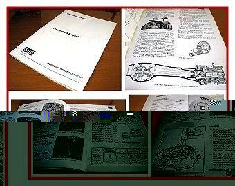 Reparaturanleitung Same Leopard 85 Export Werkstatthandbuch 1979