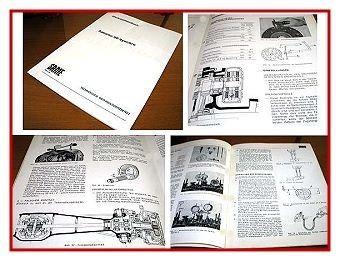 Same Saturno 80 Synchro Werkstatthandbuch 1979