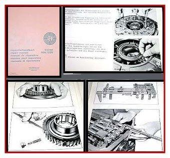 Reparatur Steyr 1100 / Steyr 1200 Werkstatthandbuch 1974