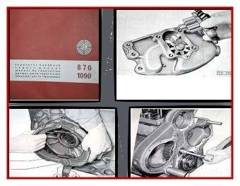 Steyr 870 / Steyr 1090 Werkstatthandbuch 1970
